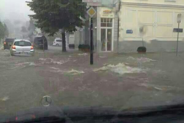 Tief QUINTIA -  Wetterstation Balve