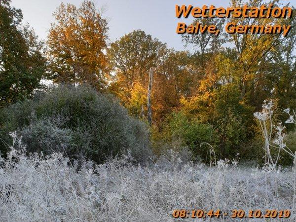 29.10.2019 frost herbst Balve