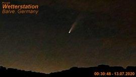 Komet C/2020 F3 auch von Balve aus zu sehen
