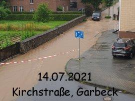 Unwetter 14.07.2021 - Tief Bernd Balve
